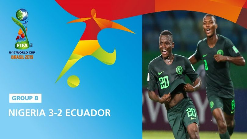Nigeria Vs Ecuador 3-2 Highlights – FIFA U17 World Cup