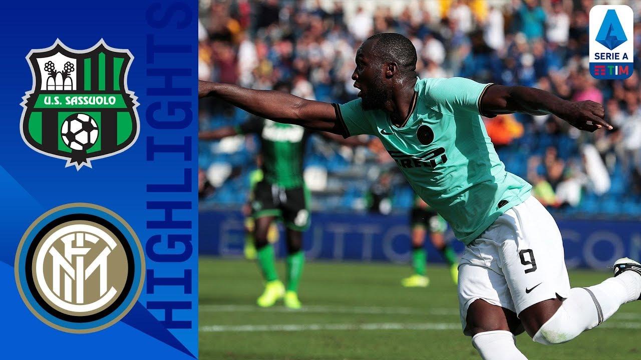 Sassuolo Vs Inter 3-4 Goals and Full Highlights – 2019