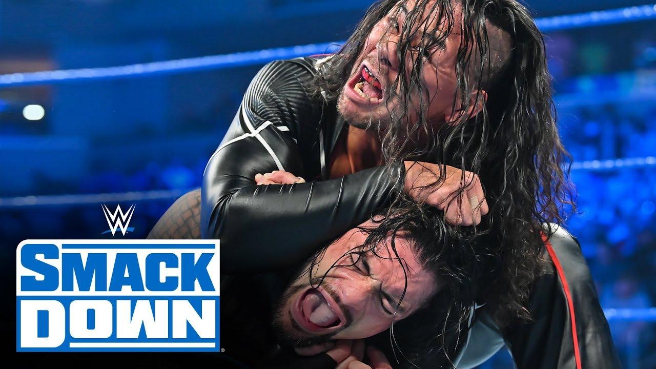 Roman Reigns vs Shinsuke Nakamura smackdown