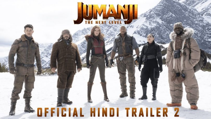 JUMANJI: THE NEXT LEVEL - Official Hindi Trailer 2 (2019)