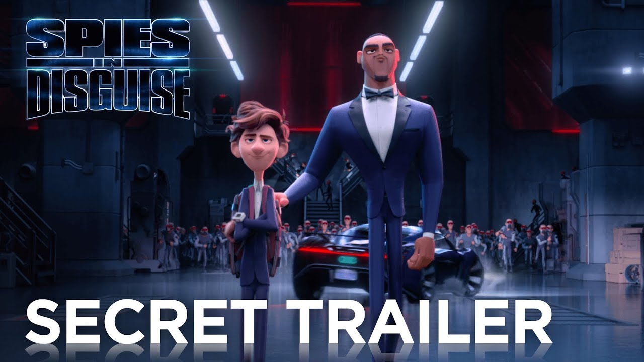 Spies in Disguise Trailer, Super Secret [2019]