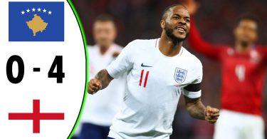 Kosovo vs England 2019