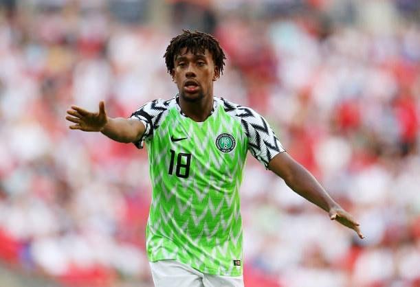 Lesotho Vs Nigeria iwobi scores