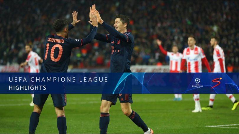 Crvena Zvezda Vs Bayern M U00fcnchen 0 6 Goals And Full