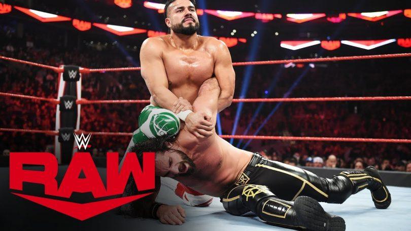 Seth Rollins Vs Andrade, Team Raw Leadership Role - MONDAY NIGHT RAW