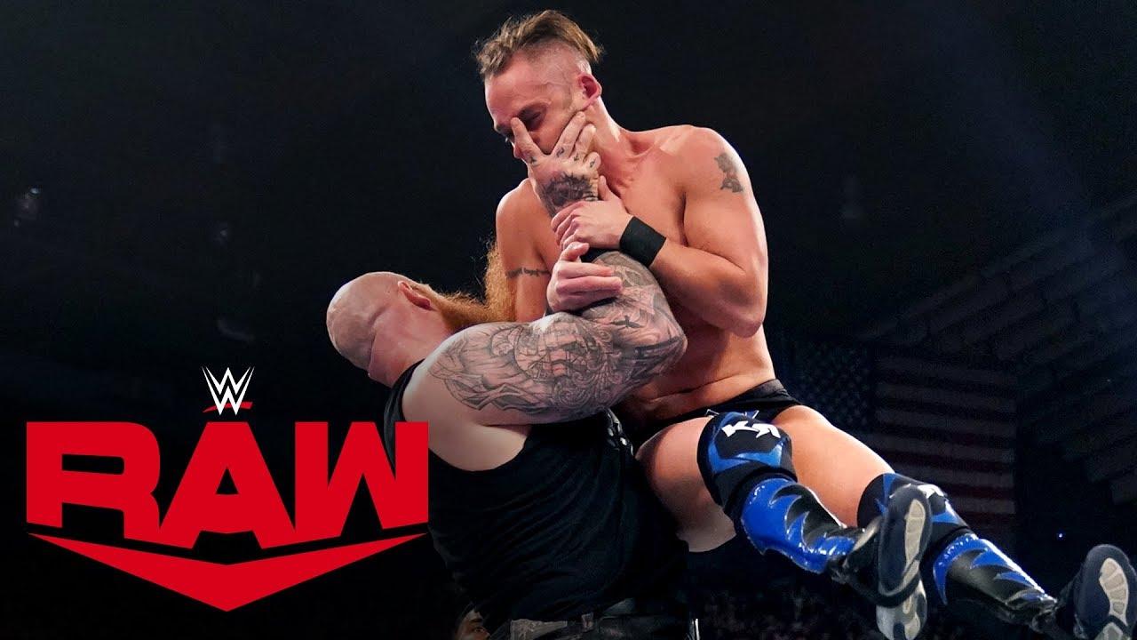 Erick Rowan vs. Kyle Roberts – MONDAY NIGHT RAW