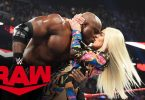 Lana kisses Bobby Lashley after Revealing her Divorce - MONDAY NIGHT RAW
