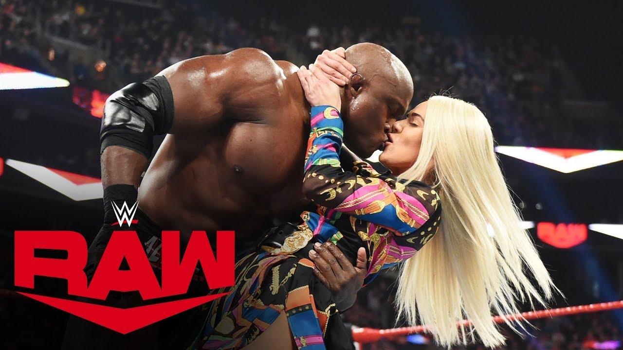 Lana kisses Bobby Lashley after Revealing her Divorce - MONDAY NIGHT RAW