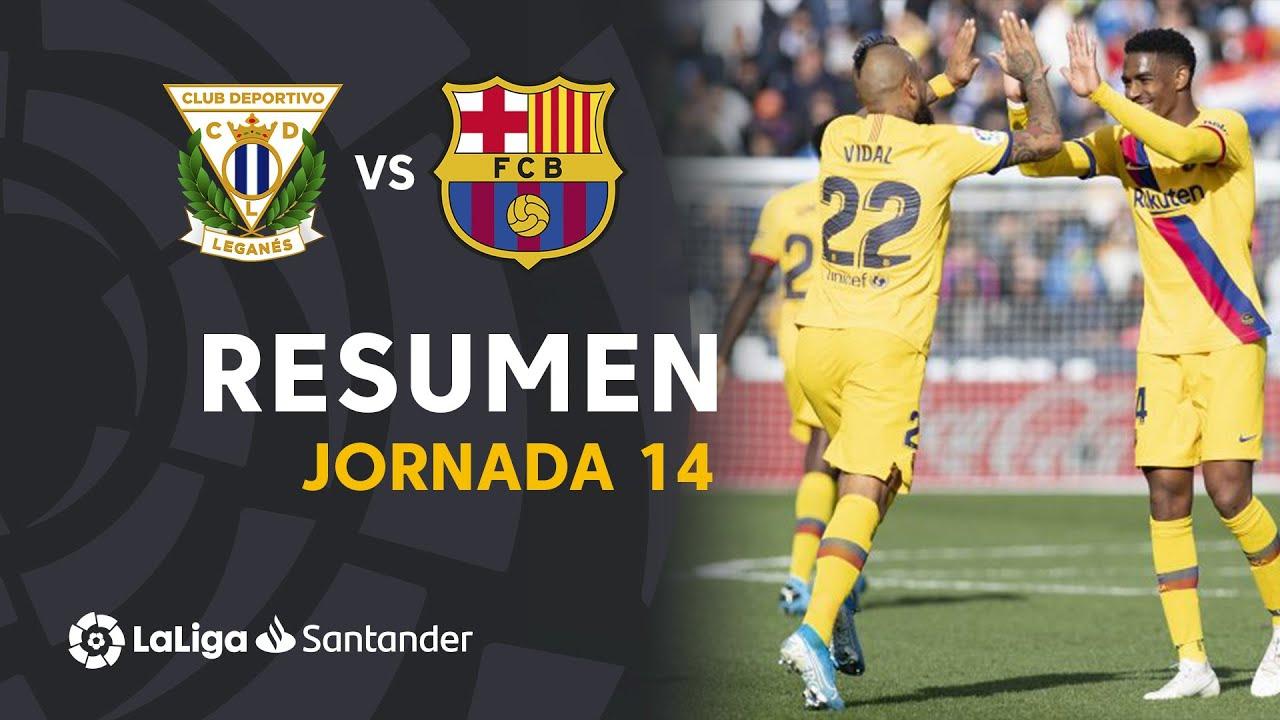 leganes vs barcelona 1 2 goals f
