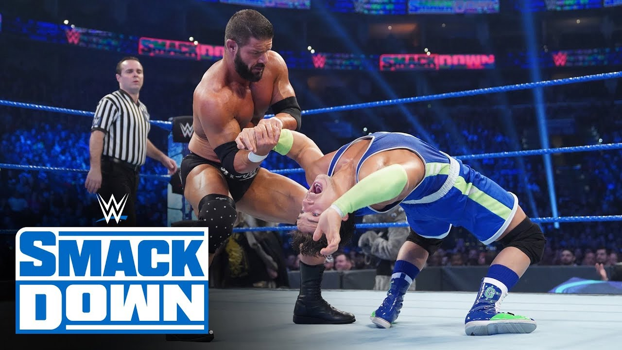 Mustafa Ali & Shorty G vs Dolph Ziggler & Robert Roode – SmackDown, Nov. 15, 2019