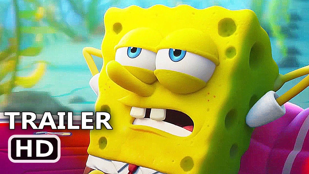 First Trailer of The SpongeBob Movie: Sponge on the Run Starring Clancy Brown