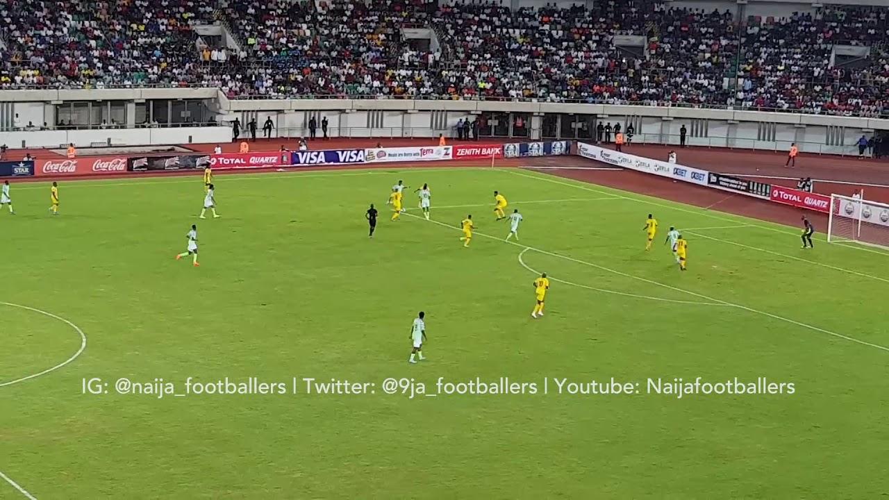 nigeria vs benin 2 1 goals and h