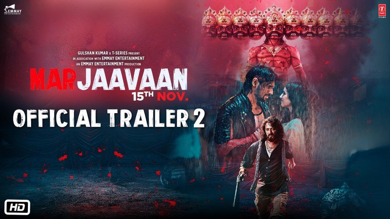 Marjaavaan Trailer 2 - Official Bollywood Movie Teaser [2019]