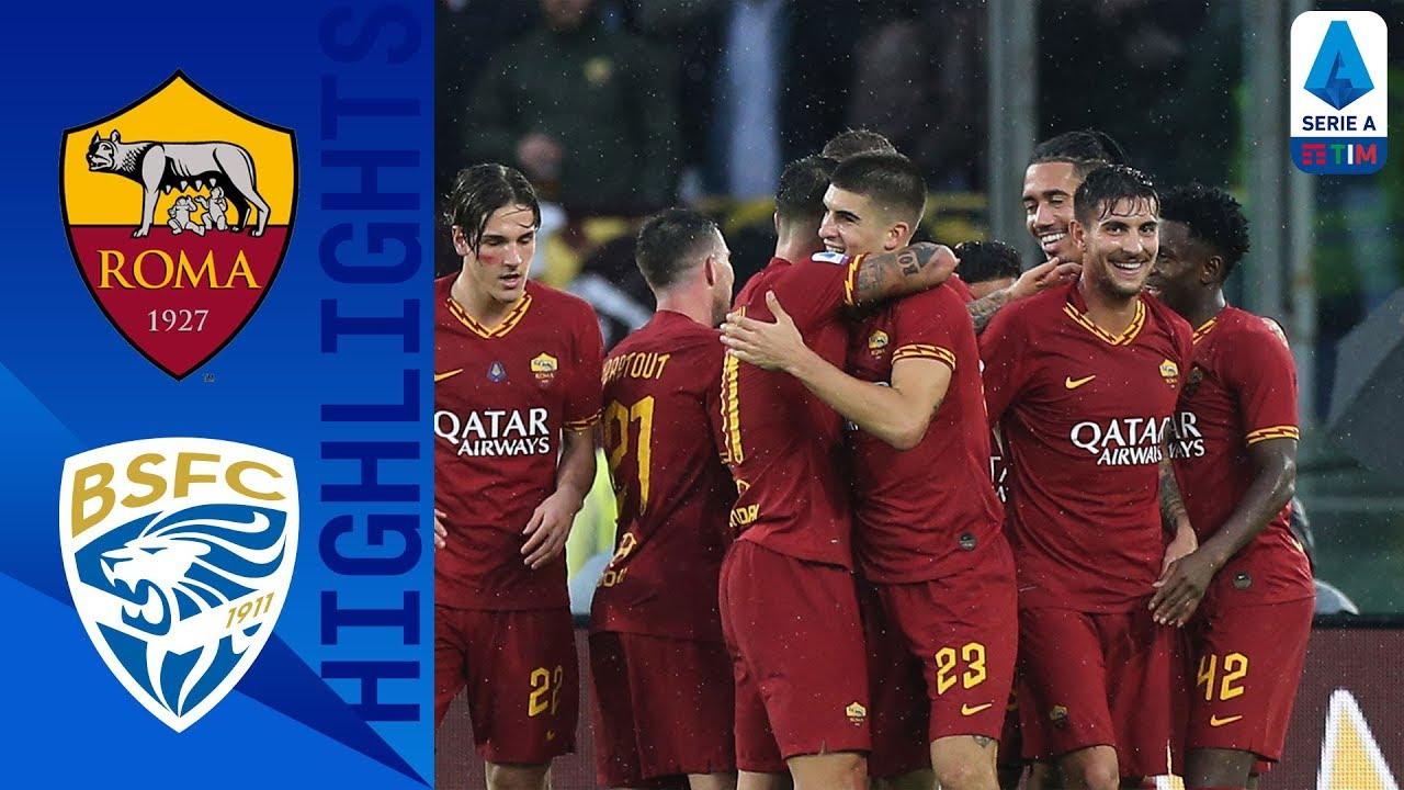 roma vs brescia 3 0 goals full h
