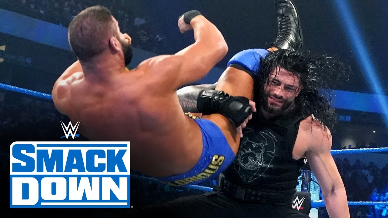 roman reigns vs robert roode sma