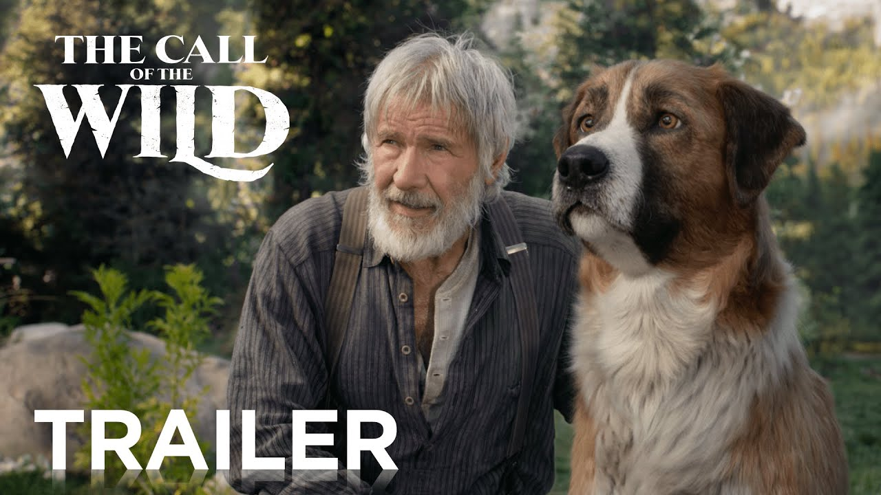 Harrison Ford & Dan Stevens in Official Trailer for 'The Call of the Wild'