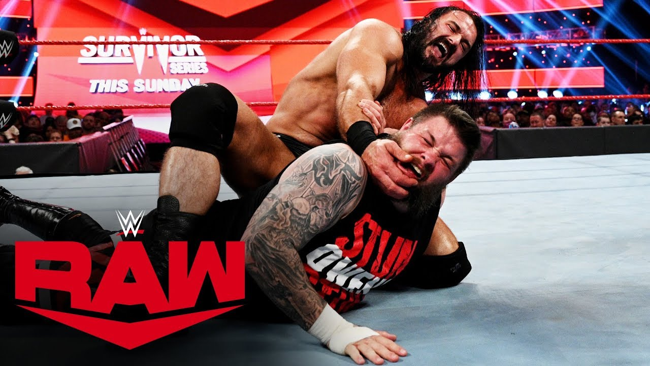 Kevin Owens vs Drew McIntyre – MONDAY NIGHT RAW
