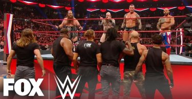 smackdown and nxt invade raw tea