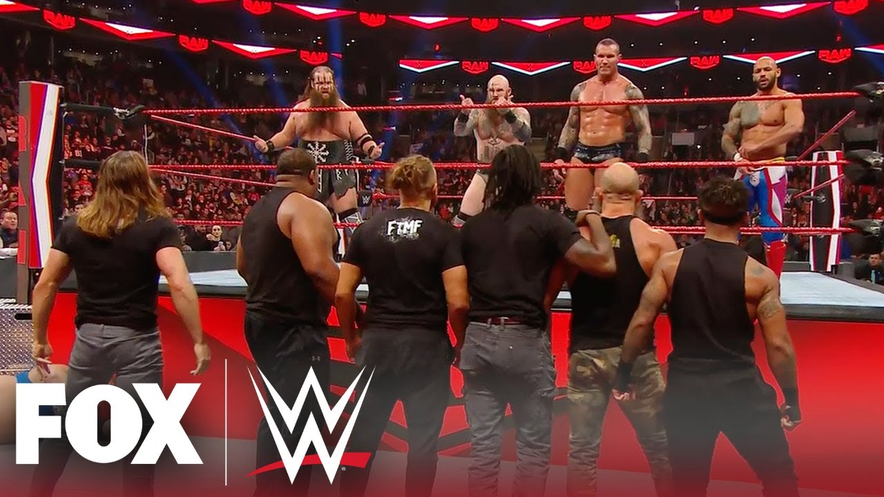 SmackDown and NXT invade Raw Team – MONDAY NIGHT RAW