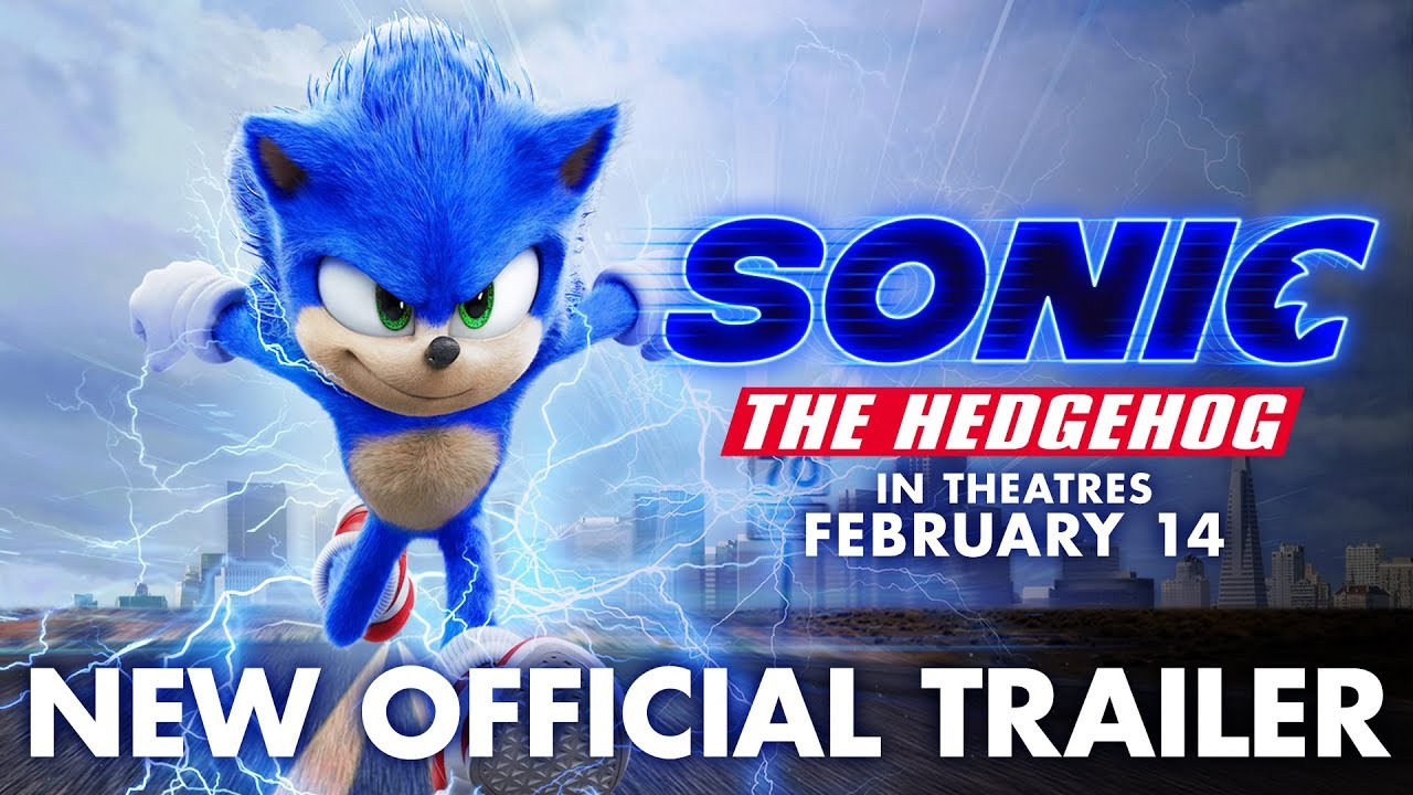 Sonic the Hedgehog Trailer - 2020