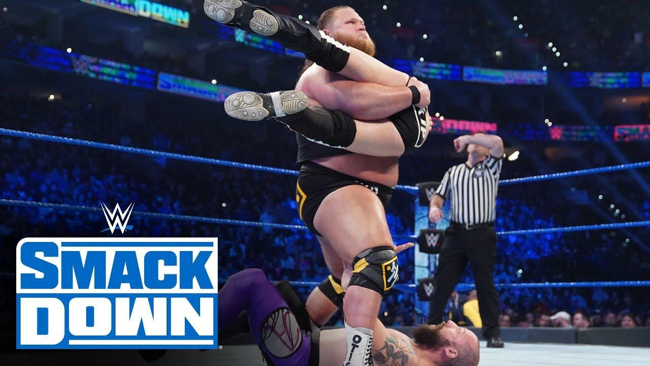 Heavy Machinery vs Kevin Tibbs & Kip Stevens – WWE SmackDown