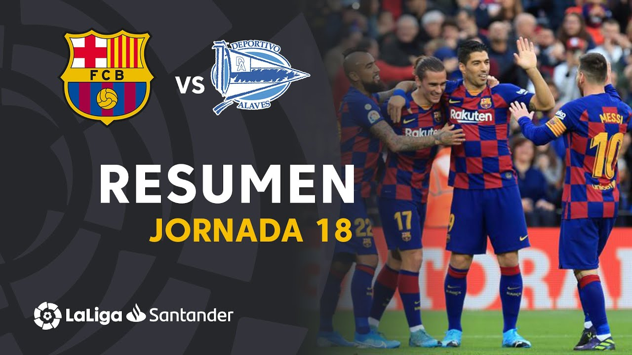 Barcelona Vs Deportivo Alaves 4-1 Goals and Full Highlights – 2019