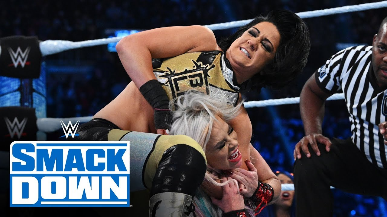 dana brooke vs bayley smackdown 1