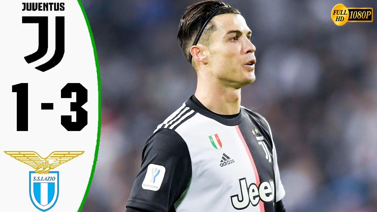 juventus vs lazio 1 3 goals and