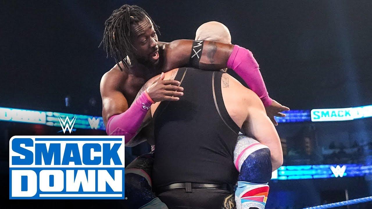Kofi Kingston vs. King Corbin – SmackDown, Dec. 13, 2019