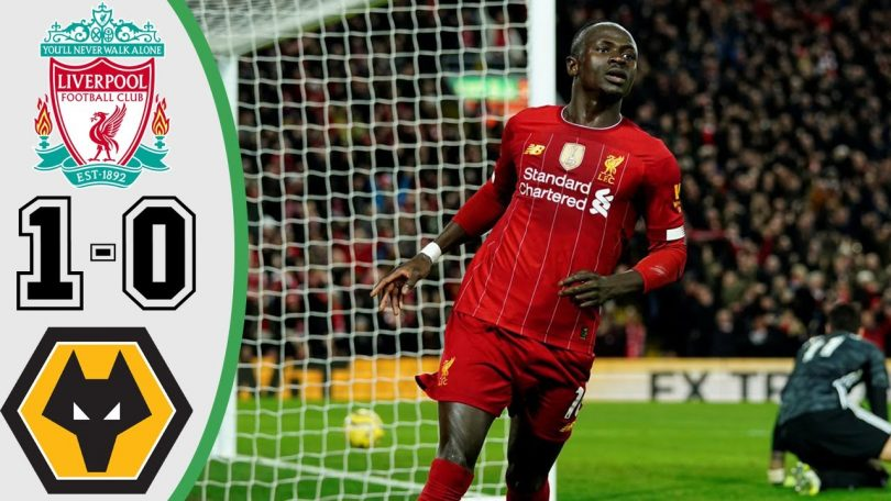 liverpool vs wolves 1 0 goals an