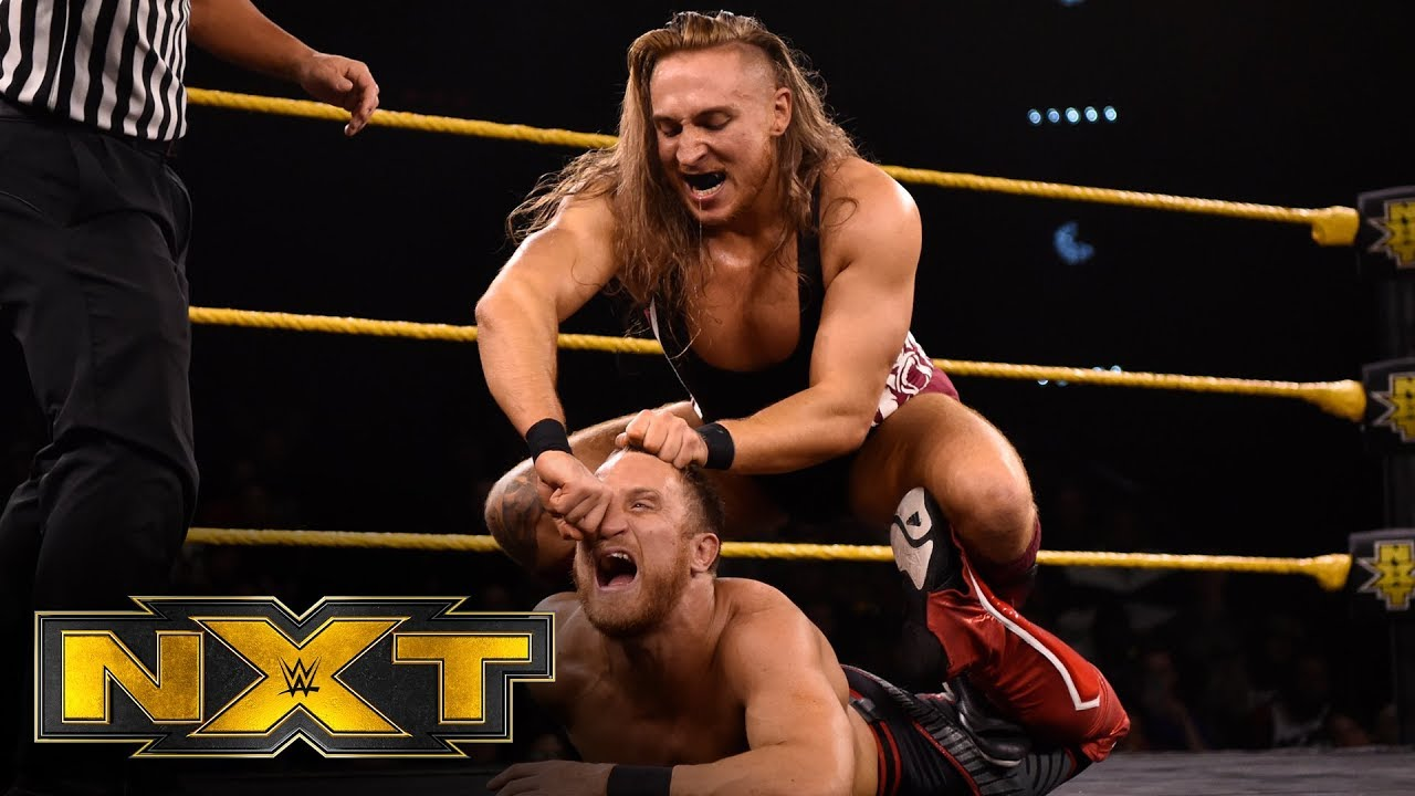 pete dunne vs travis banks wwe n