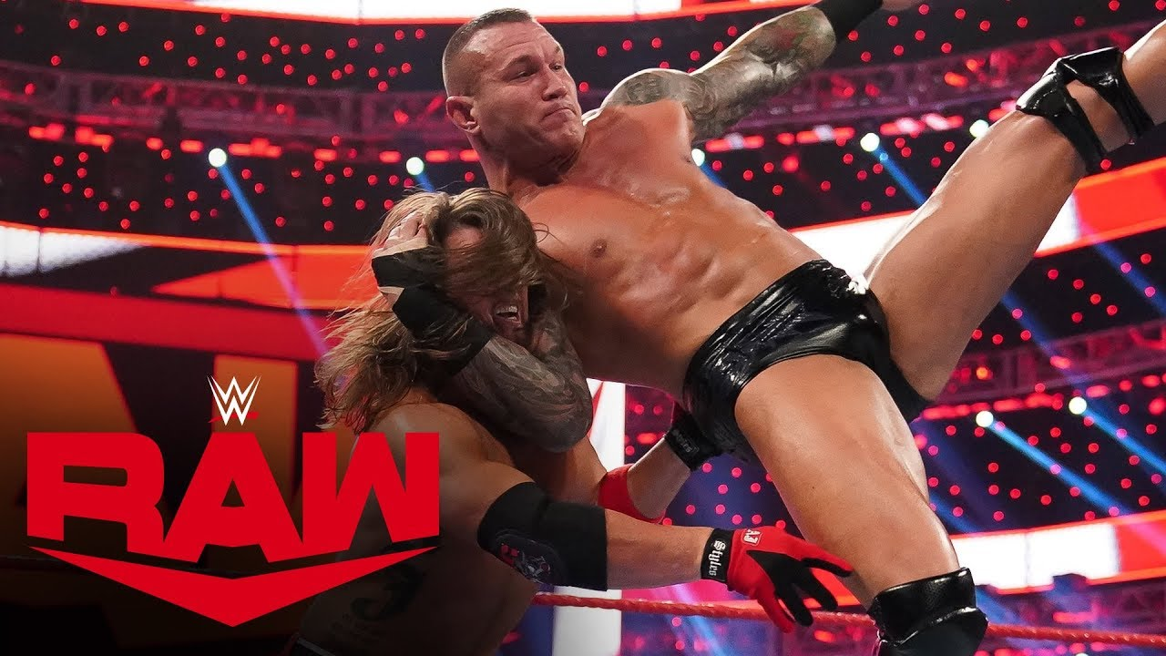 randy orton strikes down aj styl