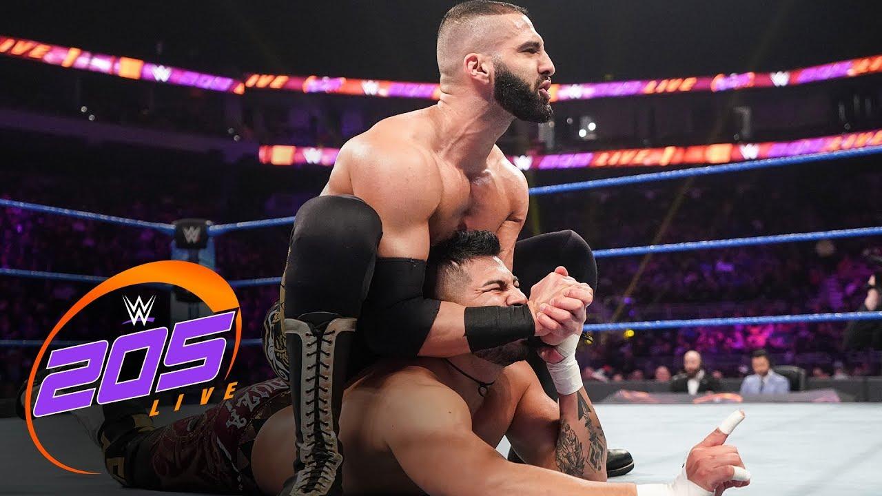 Raul Mendoza vs. Ariya Daivari – WWE 205 Live, Dec. 13, 2019