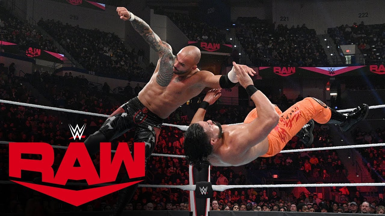 ricochet vs andrade monday night