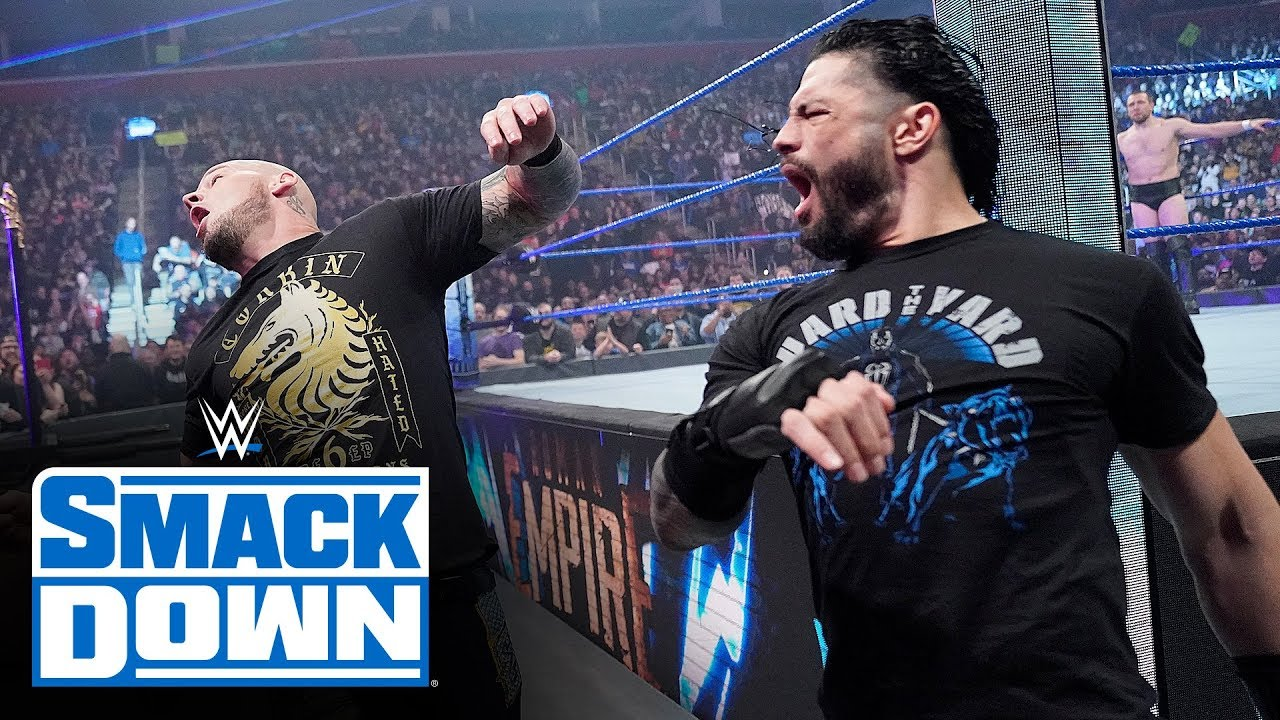 roman reigns comes calling for k