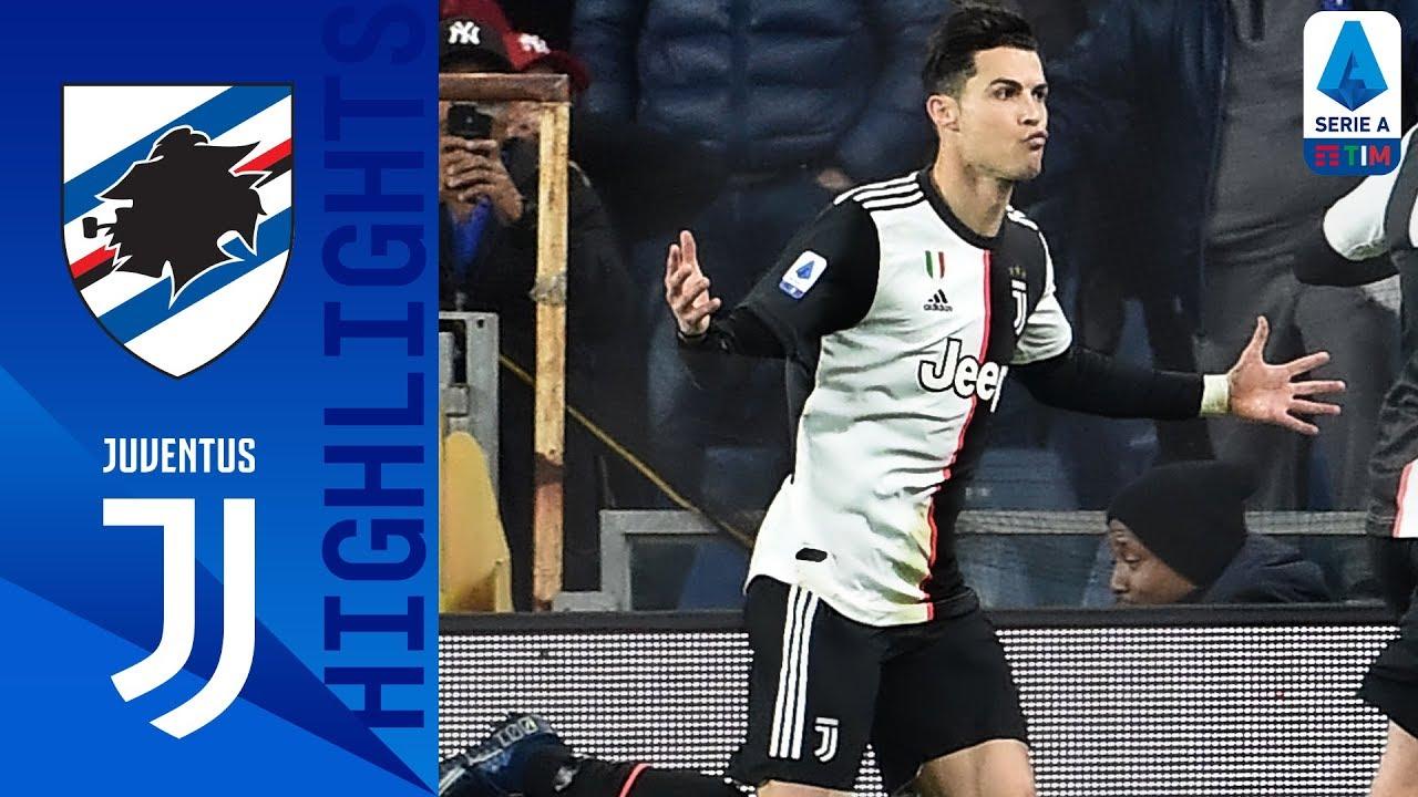 sampdoria vs juventus 1 2 goals