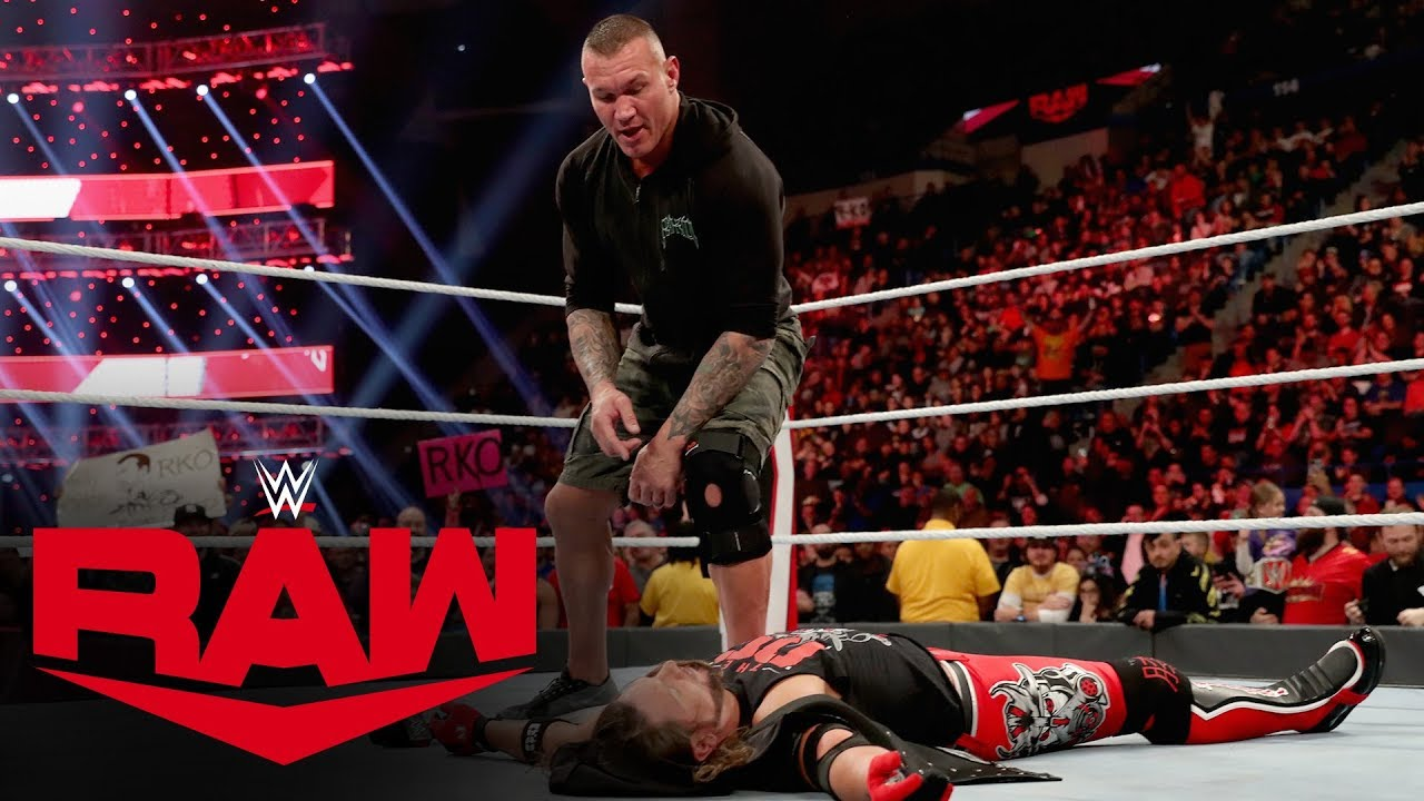 The crafty Randy Orton completely plays AJ Styles – MONDAY NIGHT RAW