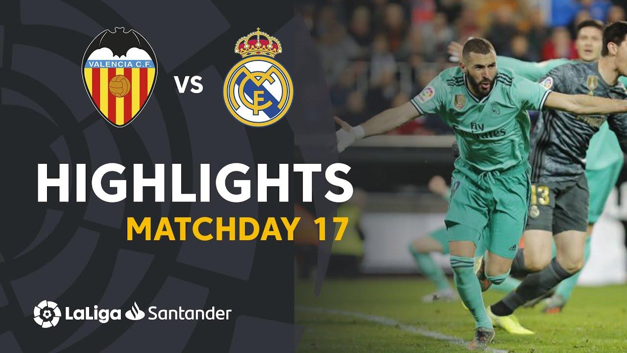 valencia vs real madrid 1 1 goal