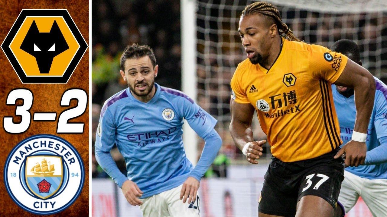 wolves vs manchester city 3 2 go