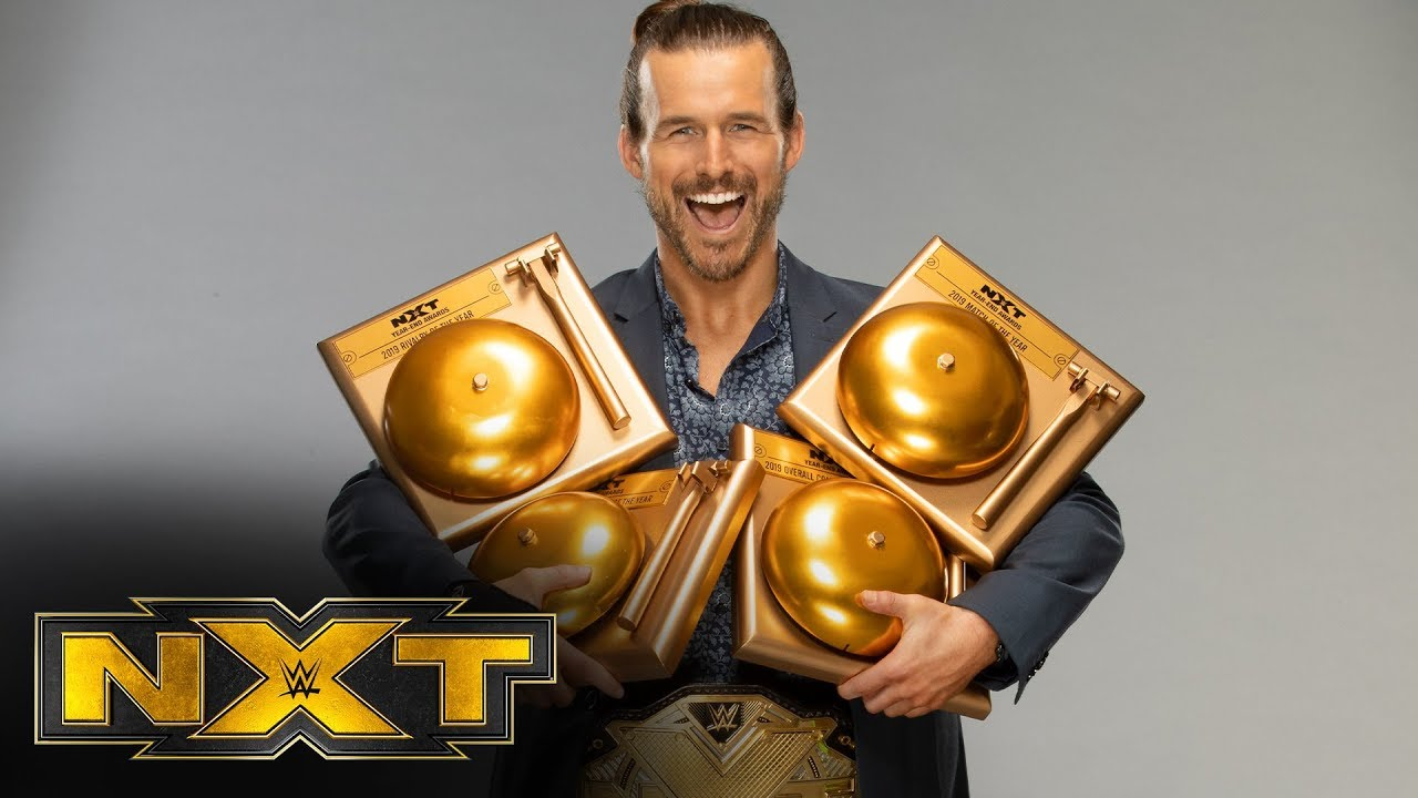 Adam Cole wins Overall Competitor of the Year – WWE NXT, Jan. 1, 2020