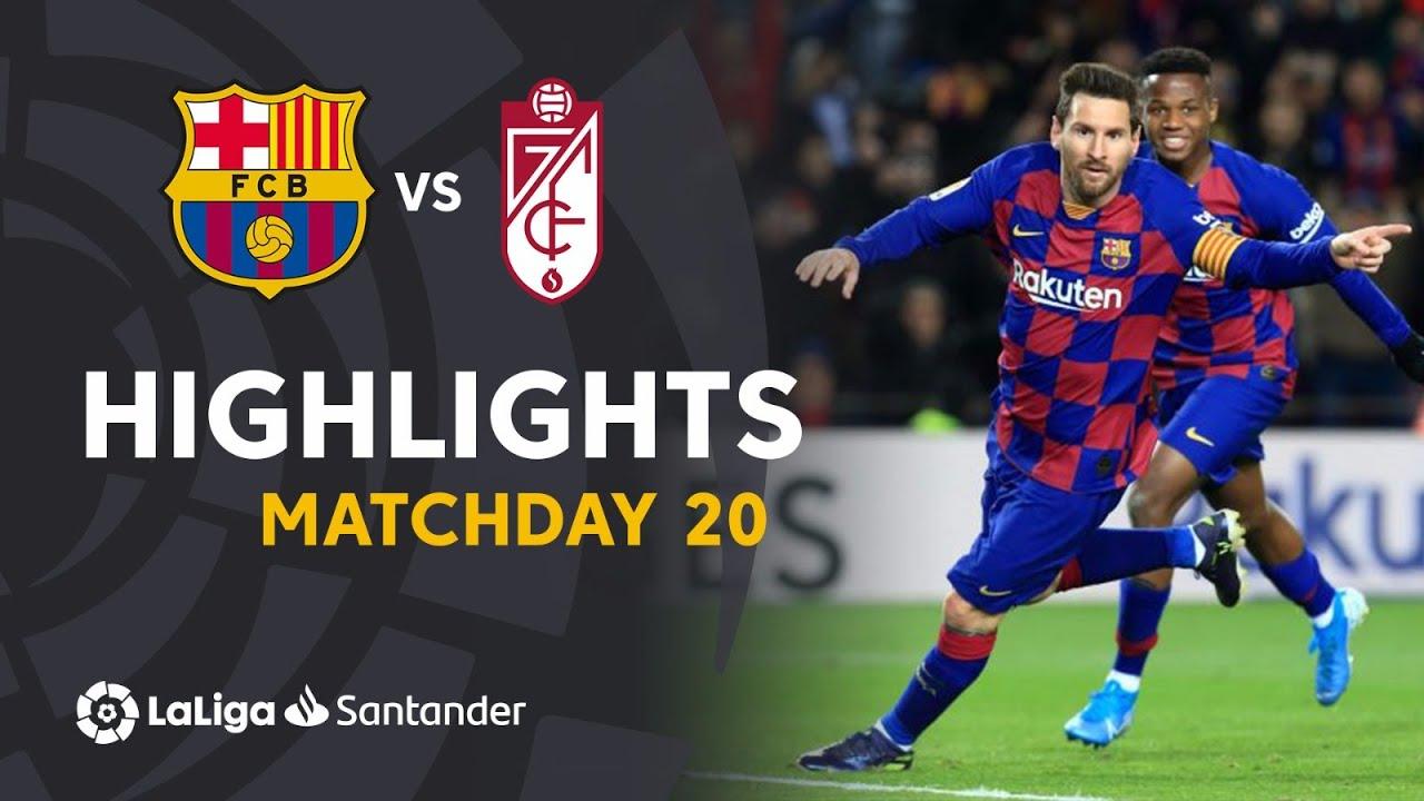 barcelona vs granada 1 0 goals a