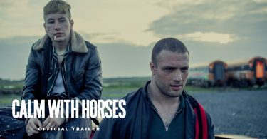 calm with horses trailer starrin