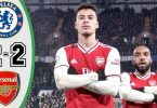 chelsea vs arsenal 2 2 goals and