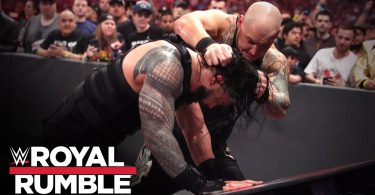 corbin smashes reigns onto inter