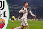 juventus vs roma 3 1 goals and f
