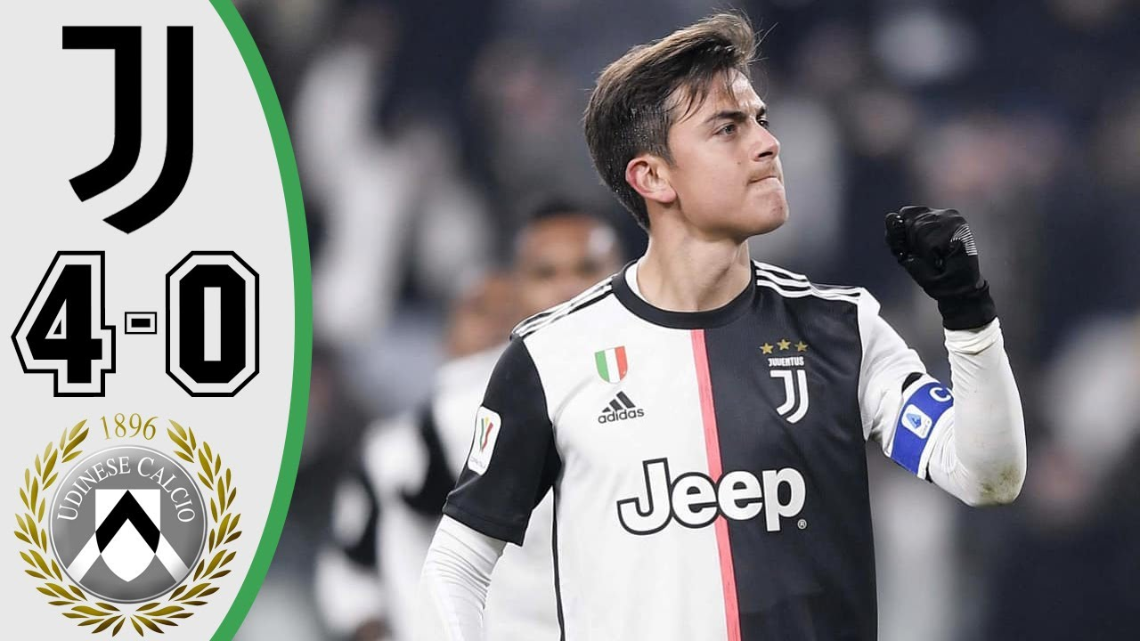 Juventus Vs Udinese 4-0 Goals and Full Highlights – 2020