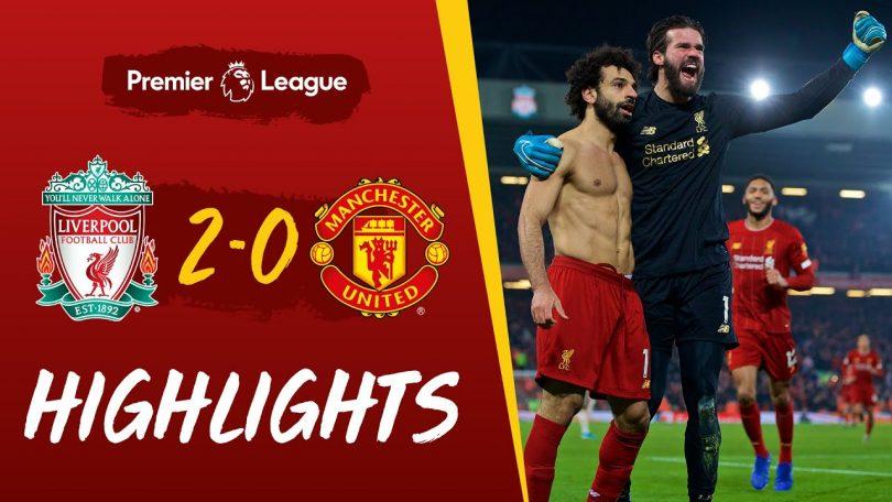 liverpool vs manchester united 2