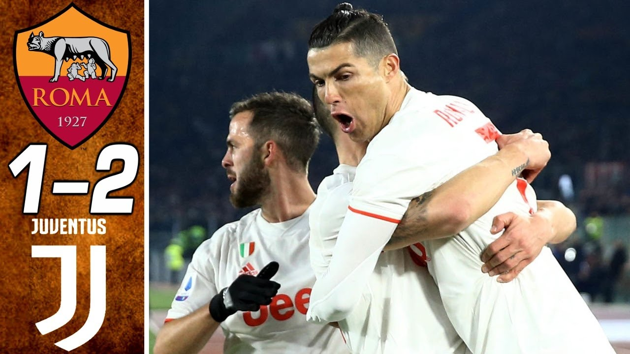 roma vs juventus 1 2 goals and f