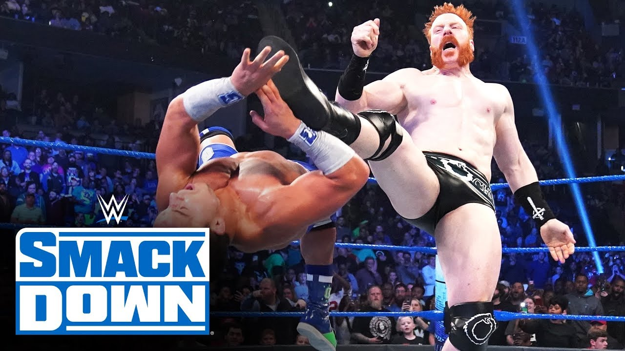 sheamus returns and lays waste t
