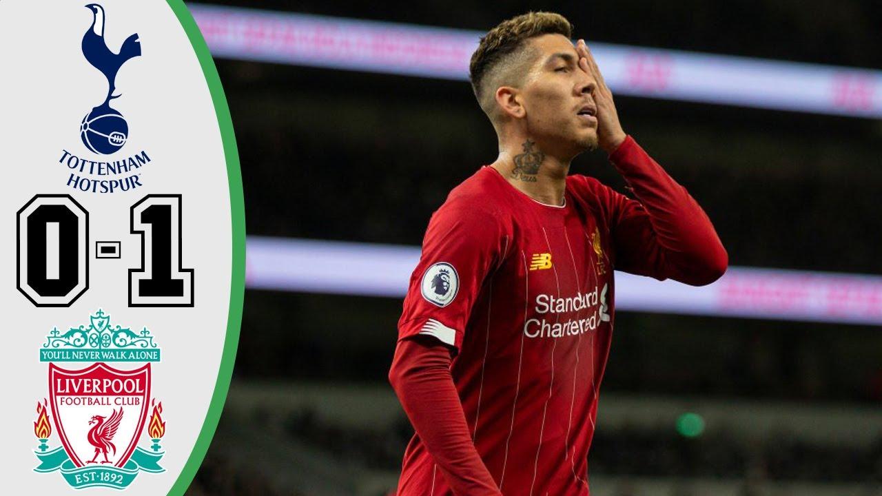 Liverpool Vs Tottenham 4 0